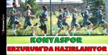 Konyaspor, yeni sezona Erzurum'da hazırlanıyor