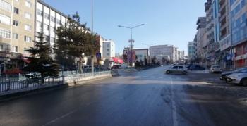 Yılın ilk gününde sokaklar boş kaldı