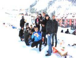 PMO öğrencilerinin karda mangal keyfi!..