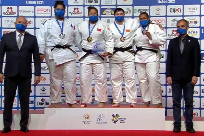 Milli judocu Kayra Sayit, Avrupa şampiyonu oldu
