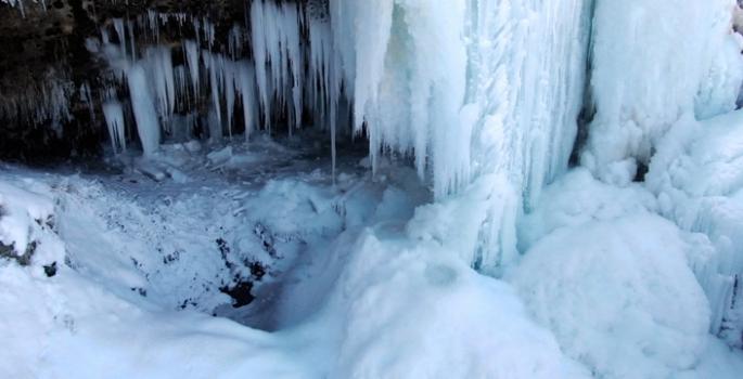 Yurdun doğusu buz tuttu