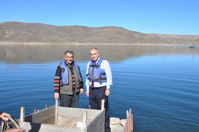Denizi olmayan kentte balık üretimi