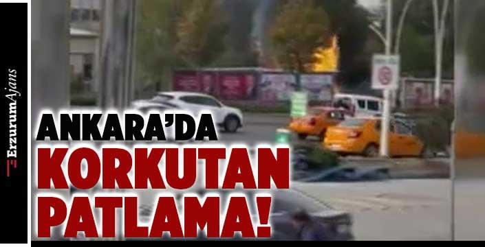 Ankara'da MTA yerleşkesinde patlama!