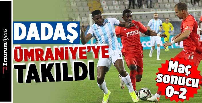 BB Erzurumspor: 0 - Ümraniyespor: 2