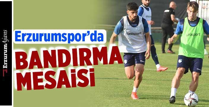 BB Erzurumspor, Bandırmaspor maçı hazırlıkları sürüyor