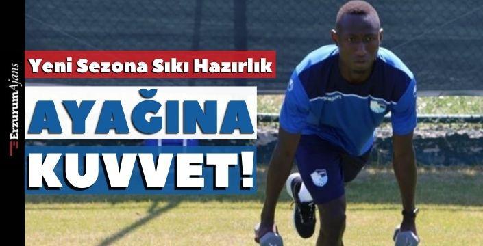 BB Erzurumspor'da yeni sezon hazırlıkları