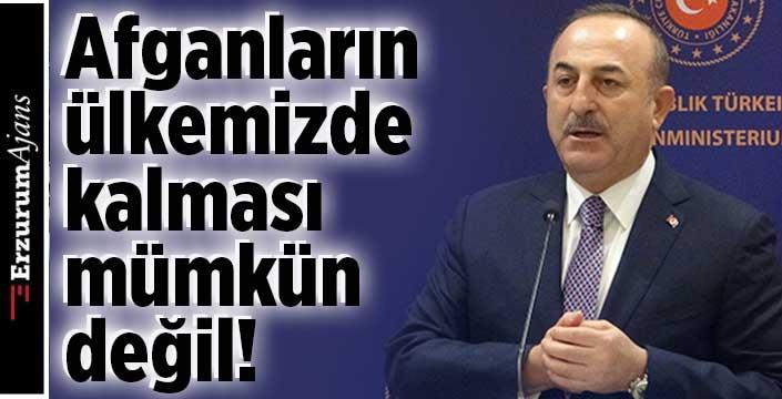Çavuşoğlu'ndan AB'ye net göçmen mesajı