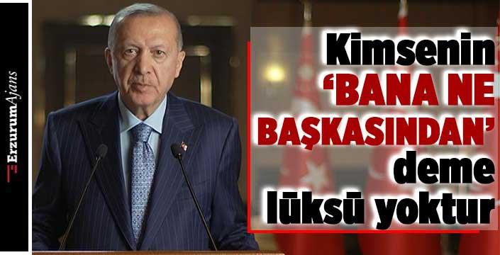 Cumhurbaşkanı Erdoğan'dan gıda güvenliği mesajı