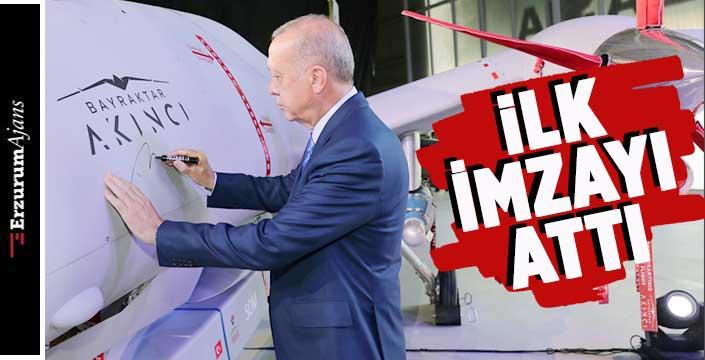 Cumhurbaşkanı Erdoğan imzayı attı