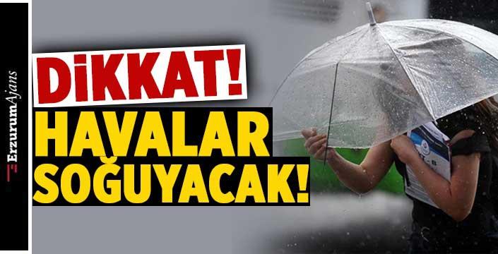 Doğu Anadolu'da hava sıcaklığı 4 ila 8 derece düşecek