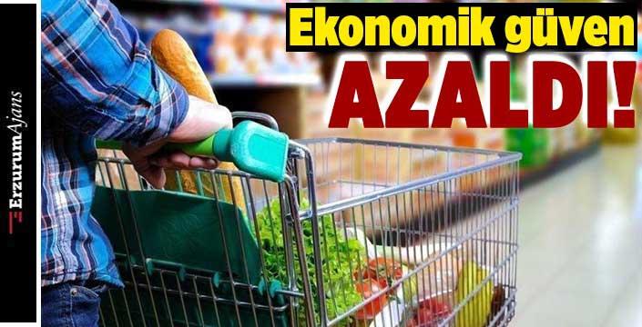Ekonomik güven endeksi azaldı