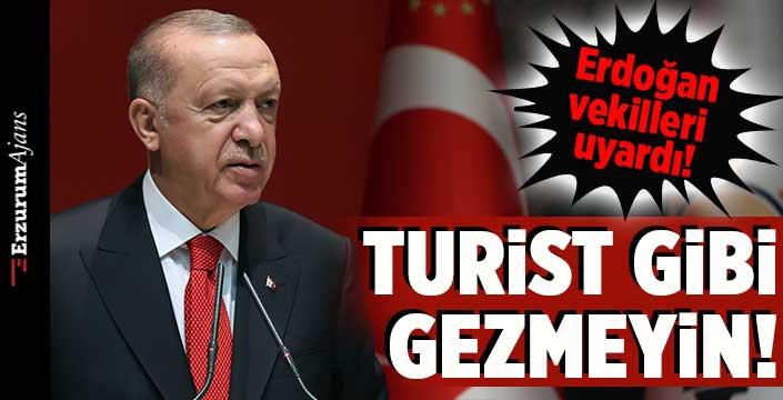 Erdoğan'dan vekillere 2023 çağrısı