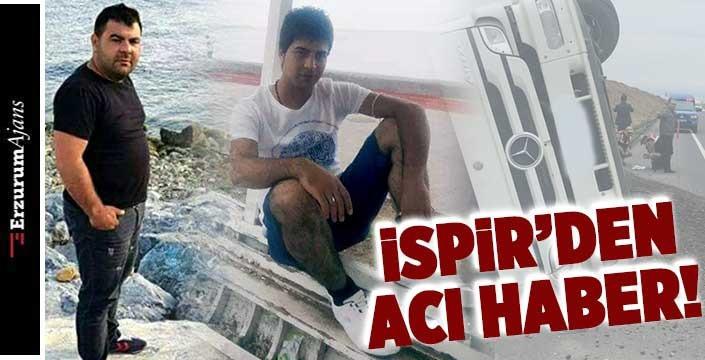 Erzurum'da kaza: 2 ölü