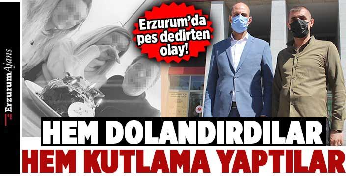 Erzurum'da 'sanal para' vurgunu
