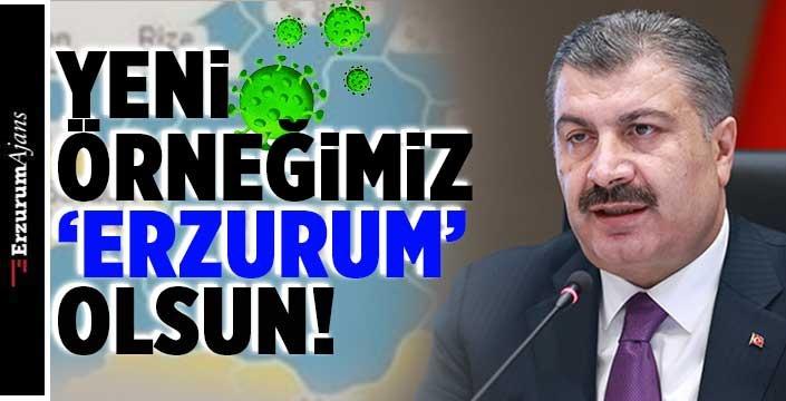 Erzurum'un rengi değişti!