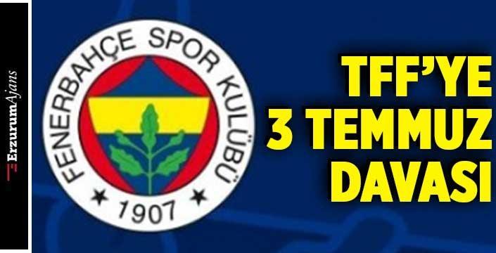 Fenerbahçe'den TFF'ye tazminat davası!