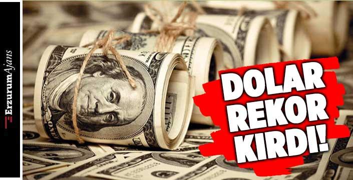 Hızla yükselen dolar 9 lirayı aştı