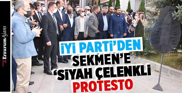 İYİ Parti'den Sekmen'e protesto