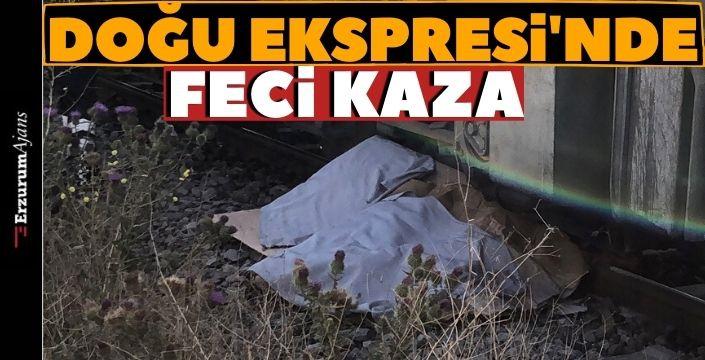 Kars'ta tren kazası