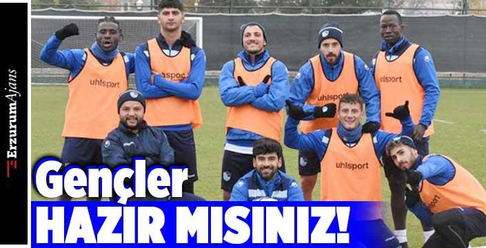 Erzurumspor Nazilli maçı hazırlıklarını tamamladı