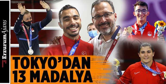 Olimpiyatlarda rekor geldi: 13 madalya