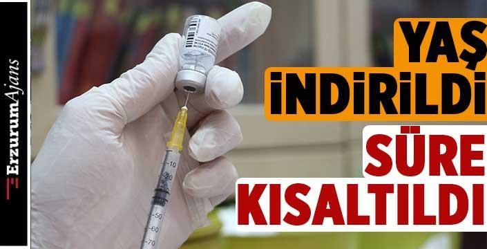 Sağlık Bakanlığı'ndan aşı ilgili yeni kararlar