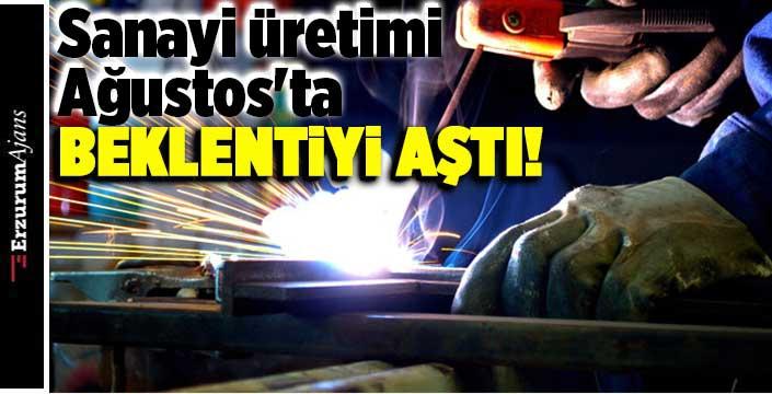 Sanayi üretimi yıllık yüzde 13,8 arttı