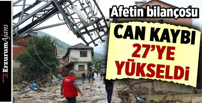 Sel felaketinde can kaybı 27'ye yükseldi!