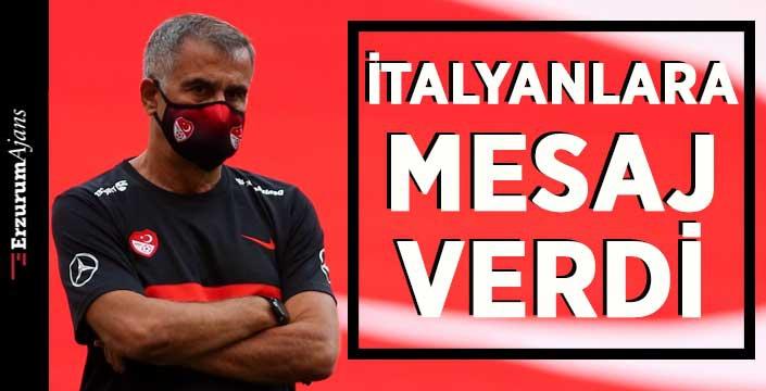 Şenol Güneş İtalyan basınına konuştu