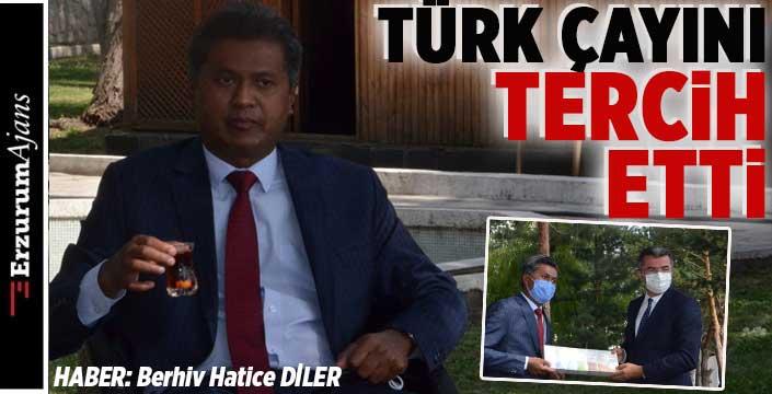 Sri Lanka'nın Ankara Büyükelçisi Hassen'den Vali Memiş'e ziyaret
