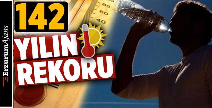 Temmuz ayında sıcaklık rekoru kırıldı