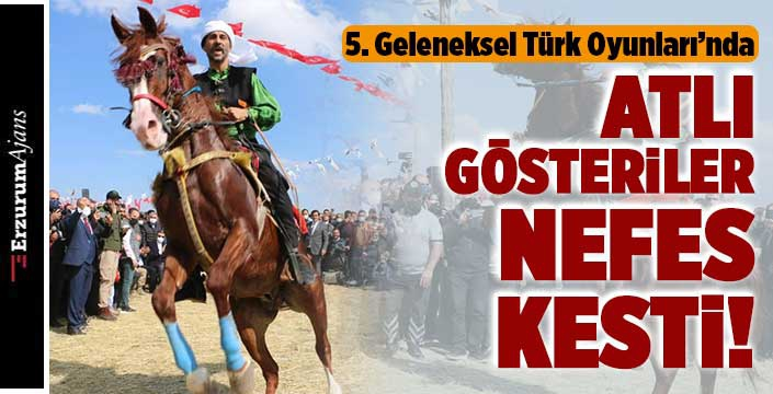 Türk oyunları renkli geçti