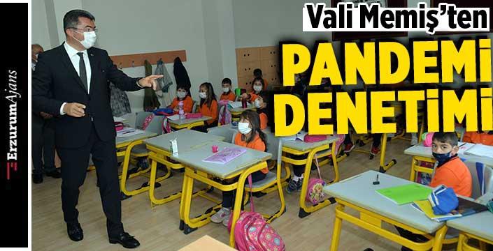 Vali Memiş, okul ziyaretlerini sürdürüyor